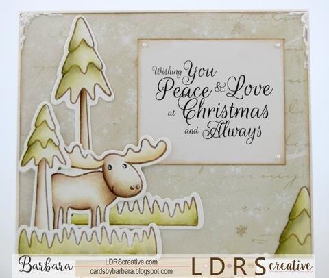 Peace, Love, Joy- Holiday Card