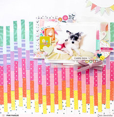 Rainbow Paper Strips
