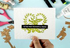 Glimmer Foil Card