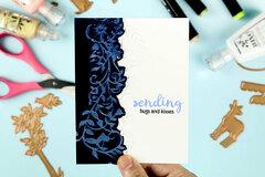 Floral Vine Card