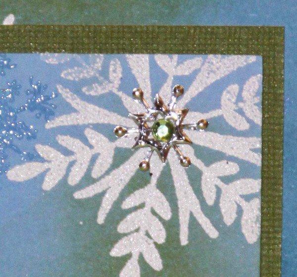 Holiday Thinking Inking: Merry Snowflakes
