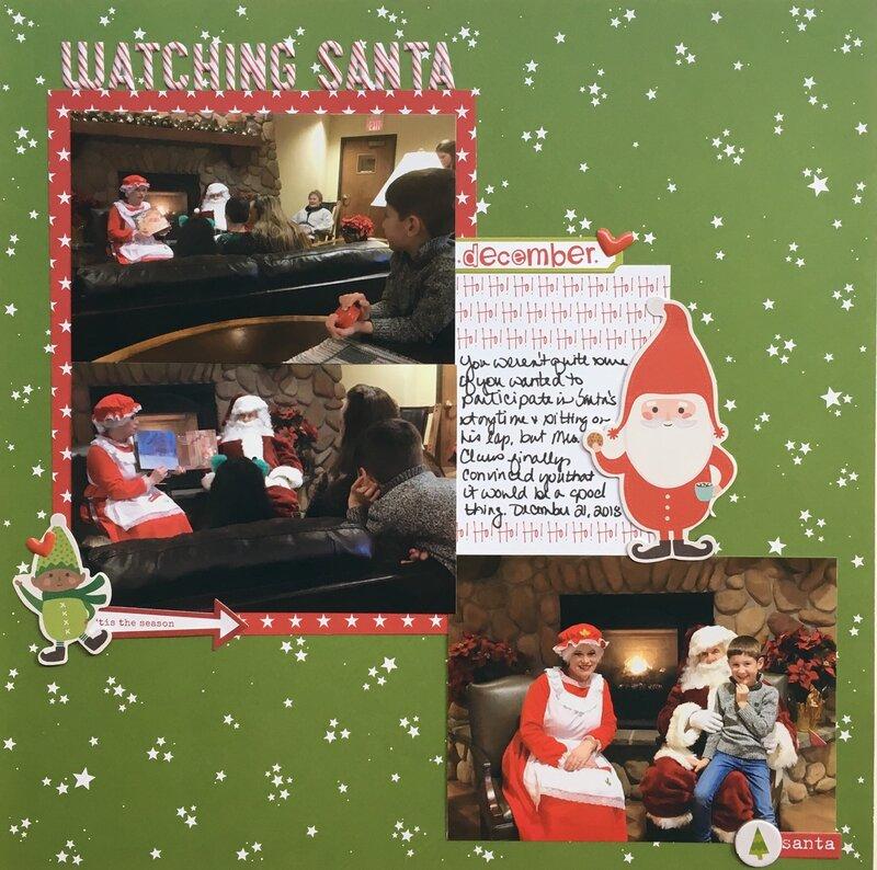 Watching Santa