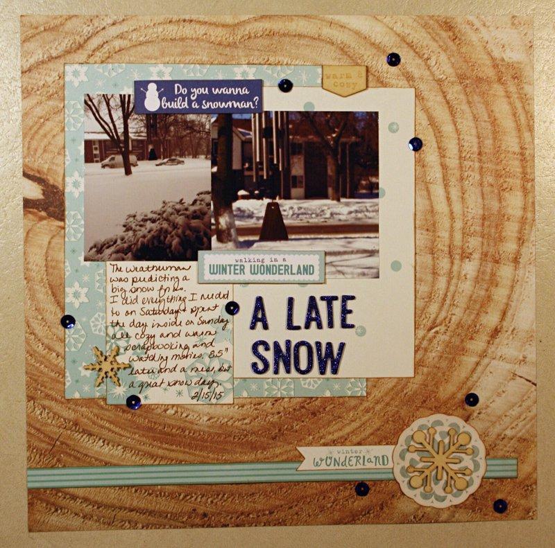 A Late Snow
