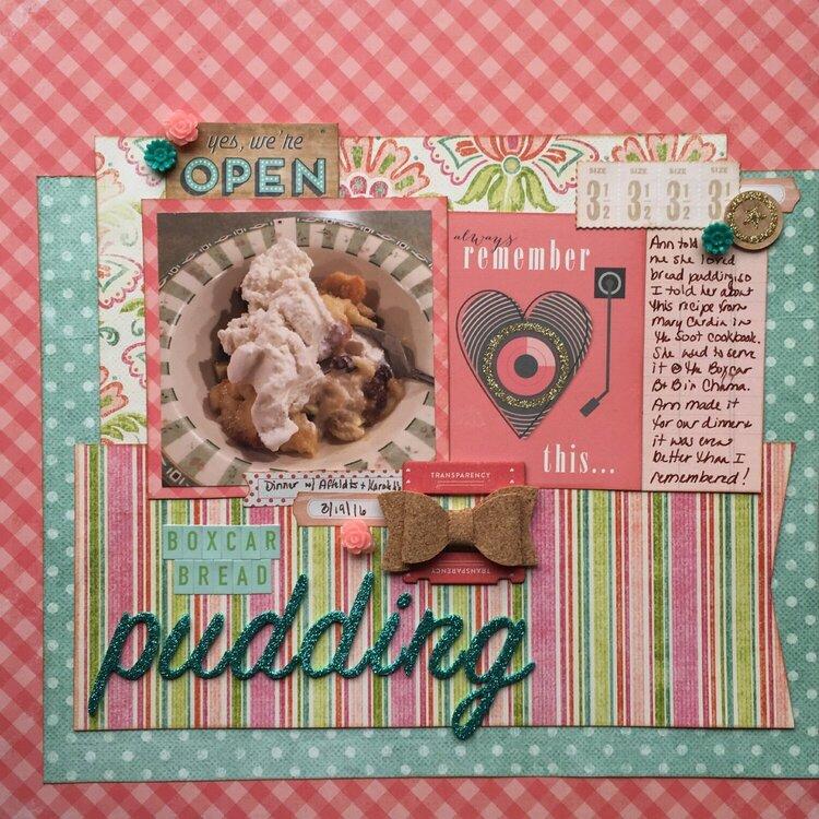 Boxcar Bread Pudding