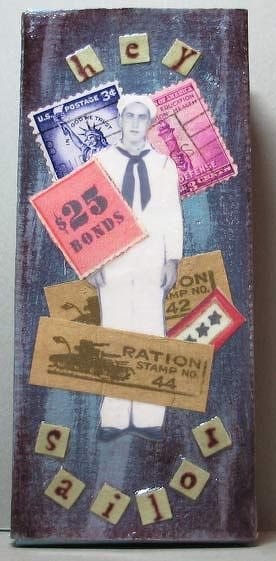 Hey Sailor!  Altered box ***As seen in Legacy***