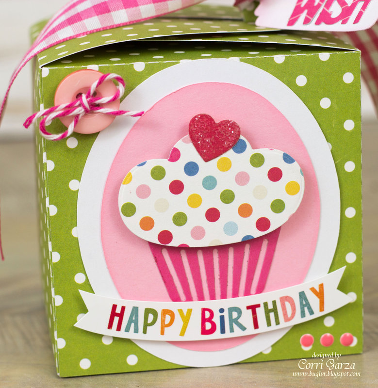 Cupcake Box - Echo Park Fine and Dandy