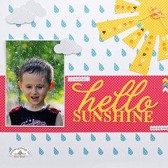 Hello Sunshine - Doodlebug Swiss Dots