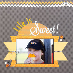 Life is Sweet - Color Challenge for Doodlebug Designs