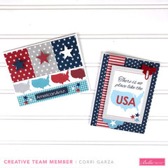 Patriotic Card Set for Bella Blvd