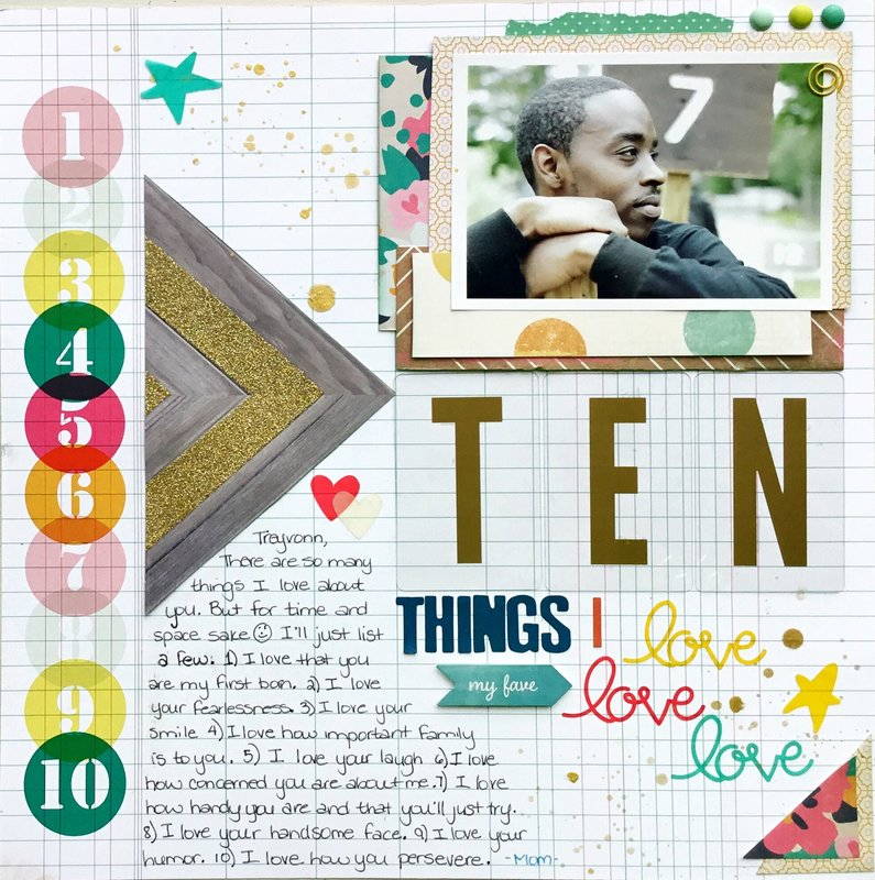 TEN THINGS I LOVE....