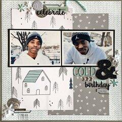 Cold & Snowy Birthday