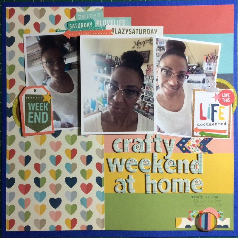 Crafty Weekend At Home