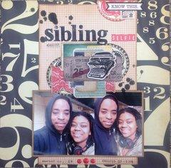 Sibling Selfie