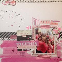 Pink Pool Of PEEPS
