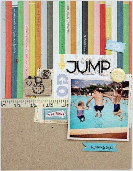 Summer Theme: 123 JUMP