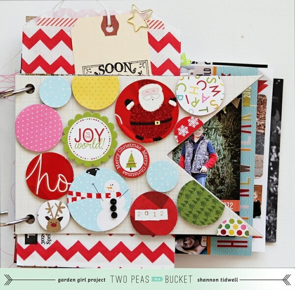 Holiday Album: Christmas Card Album