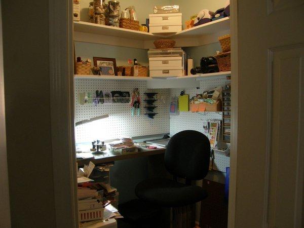 My craft closet