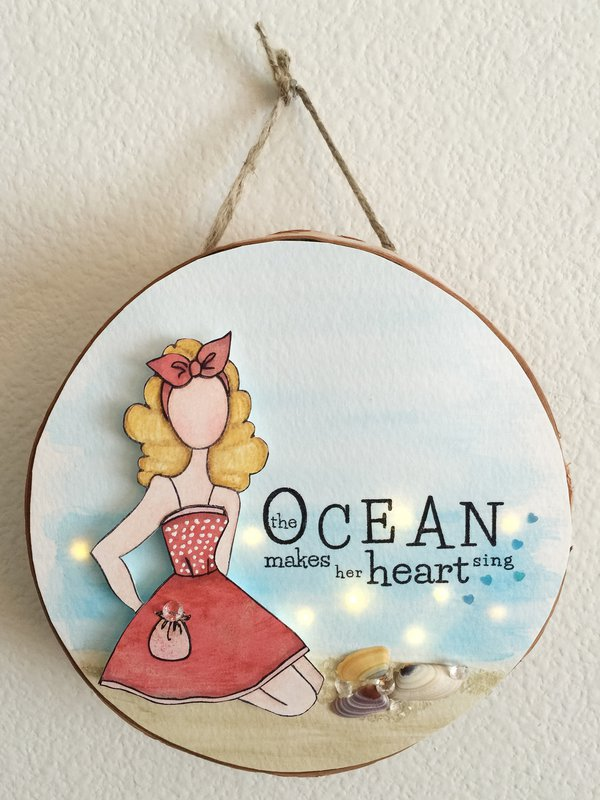 The Ocean Makes Her Heart Sing