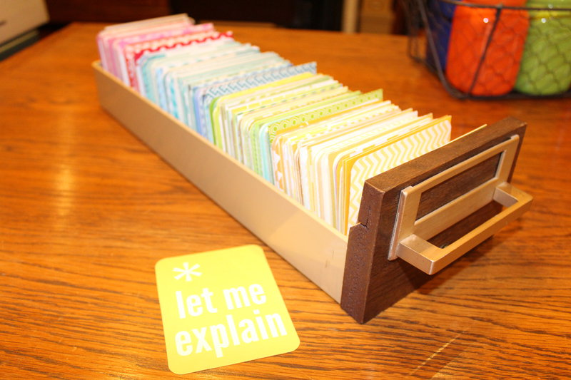 Project Life Card Storage