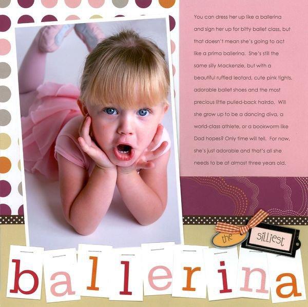 The silliest ballerina
