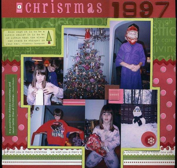 Christmas 1997 - Multiple Photo Challenge