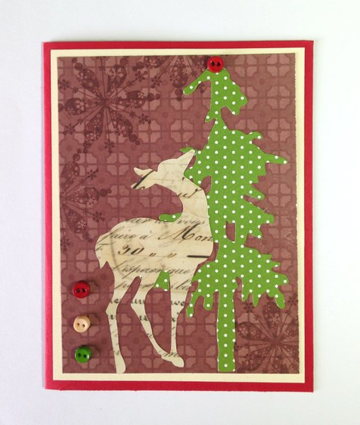 Christmas All Year -- patterned paper
