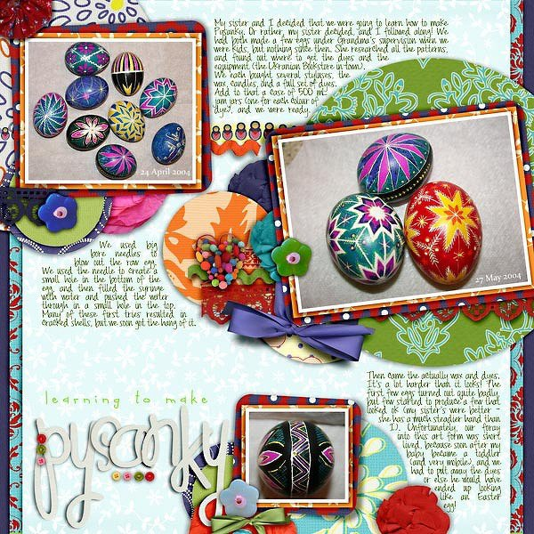 Learning to Make Pysanky