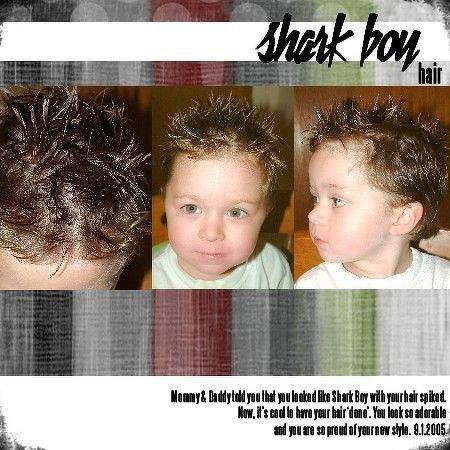 Shark Boy Hair