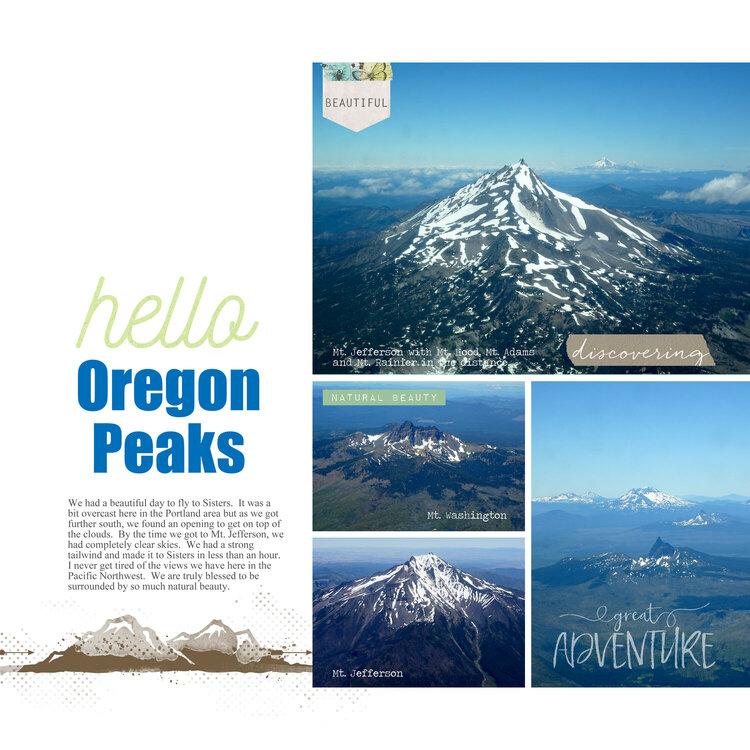 Oregon Peaks