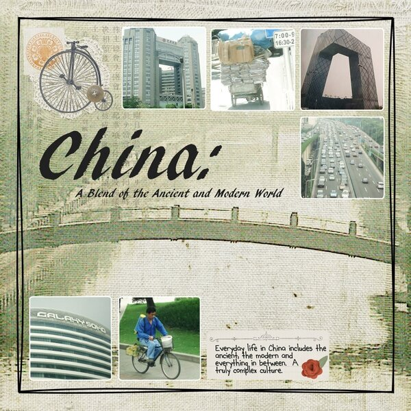 China: A Blend of the Ancient and Modern World