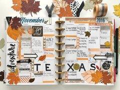 November Planning