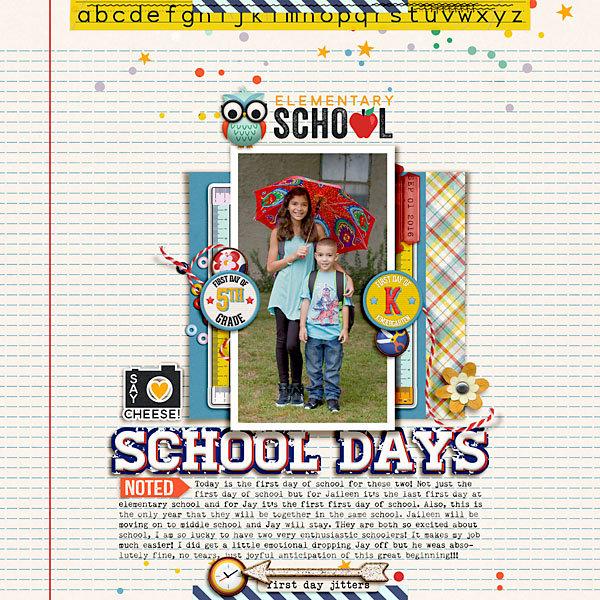 Elementary School Days