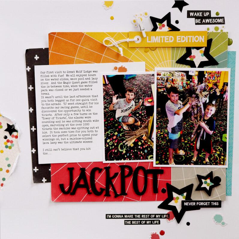 Jackpot Layout *Jillibean Soup*