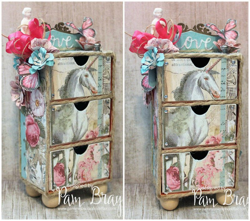 Wonderland of Love Stackable Drawers