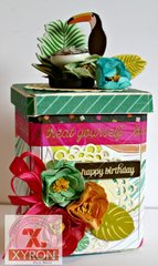 Happy Birthday Canister with Gift Cards