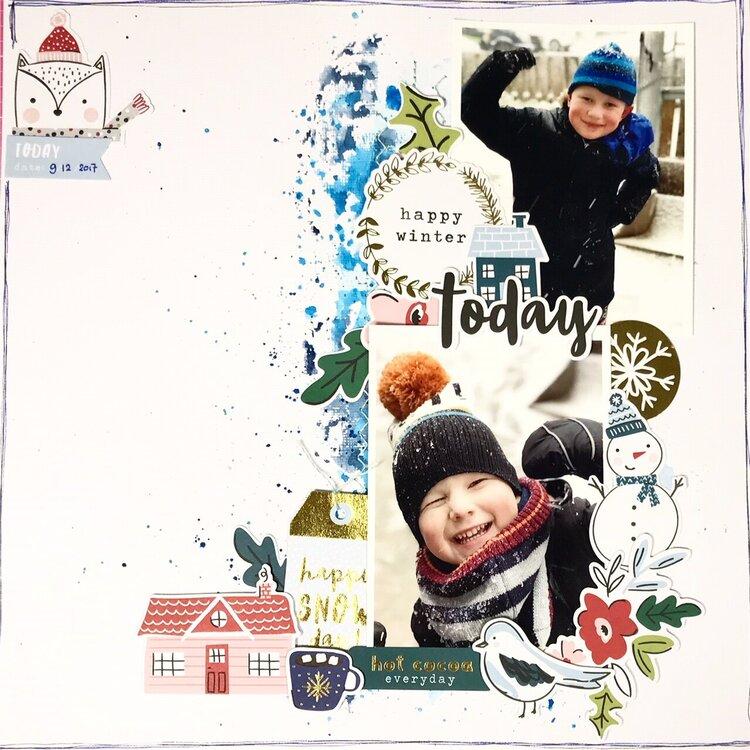 Happy Winterday today