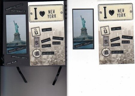 ** I love NYC** Entry in Annette's Circle journal