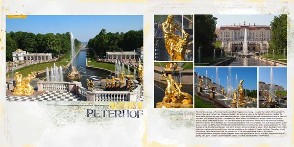 Fountains of Peterhof