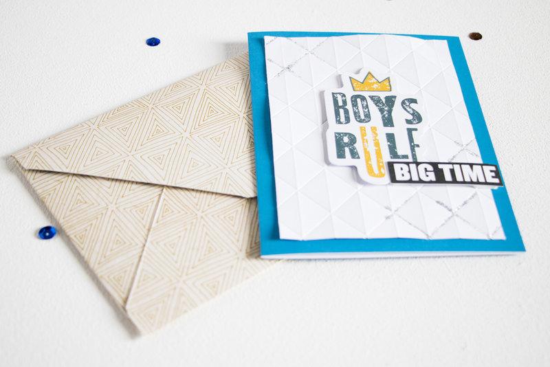 Masculine Cards - Boys Rule.