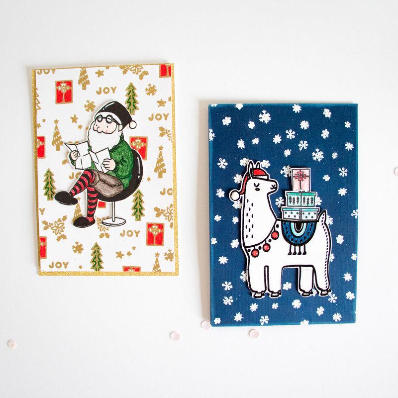 Pinkfresh Studio Christmas Cards.