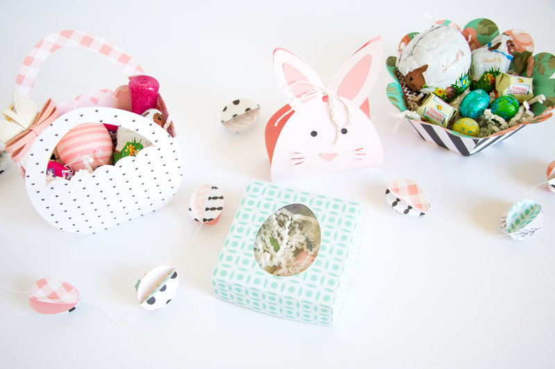 Easter Gift Boxes.