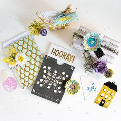 DIY Gift Wrap Ideas with Willow Lane.