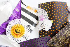 Halloween Treat Bags & Boxes.