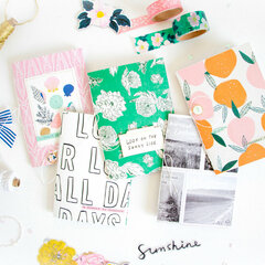 DIY Notebooks with Sunny Days.