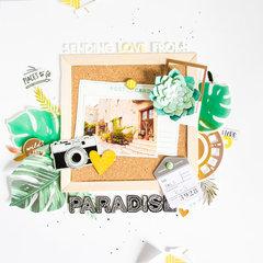 Sending Love from Paradise.