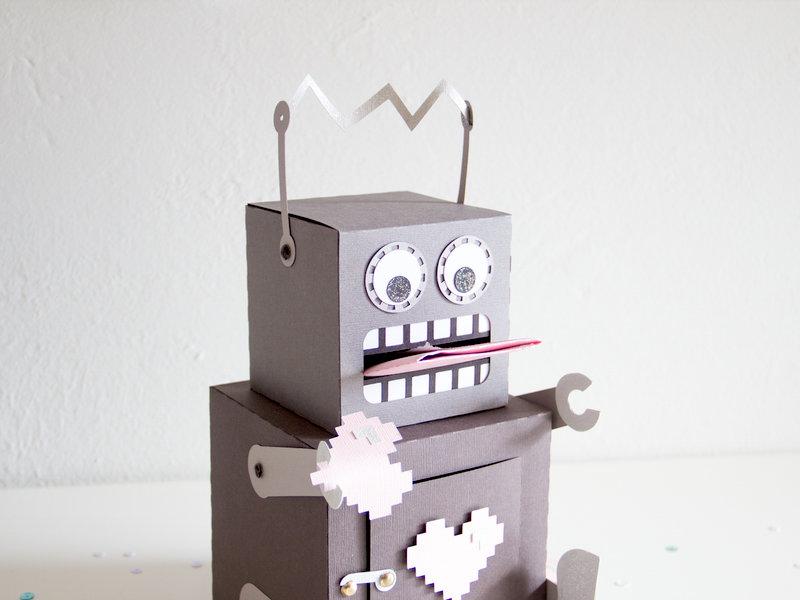 Robot Gift Box.