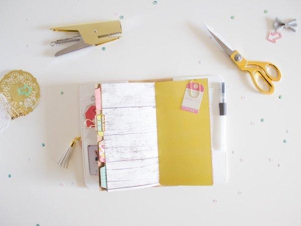 DIY Traveler's Journal Insert.