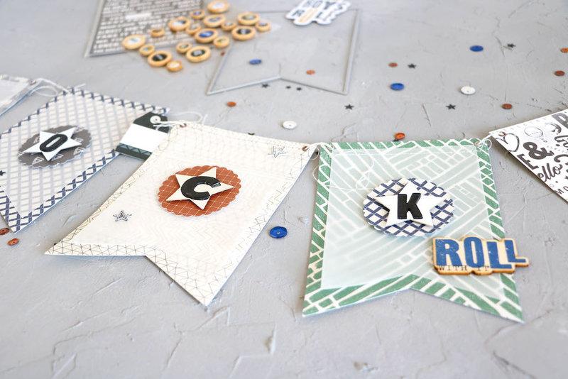 """You Rock"" - DIY Banner Decoration"