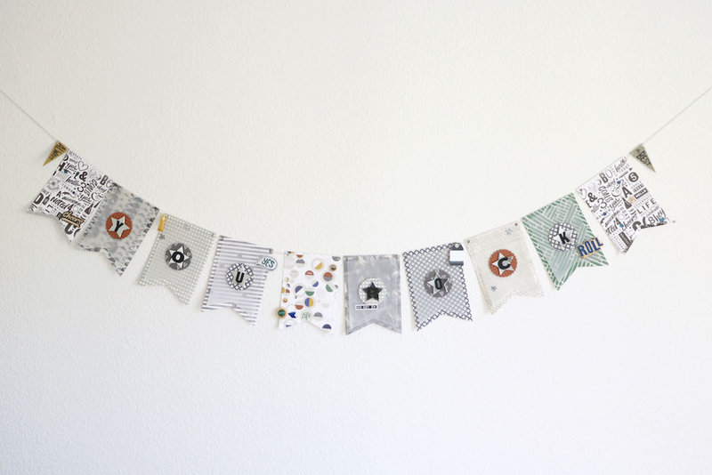 """You Rock"" - DIY Banner Decoration"