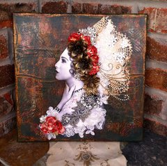 Tattered Vintage Lady